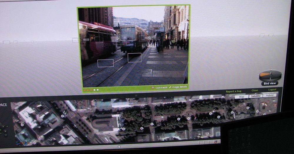 Nokia Image Space viser verden med brukernes egne bilder.