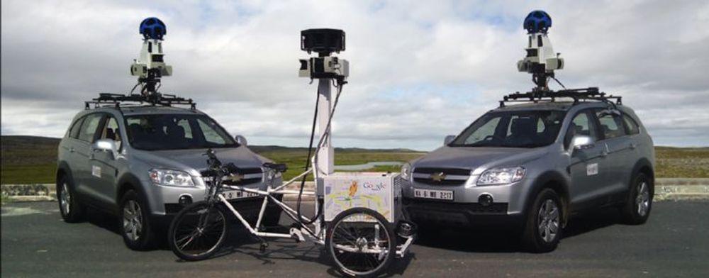 Google skal ha samlet inn posisjonsdata om alle typer enheter med WLAN-tilknytning fra selskapets Street View-kjøretøyer.