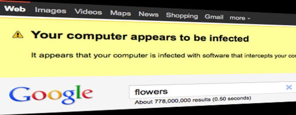 Google advarer om skadevare
