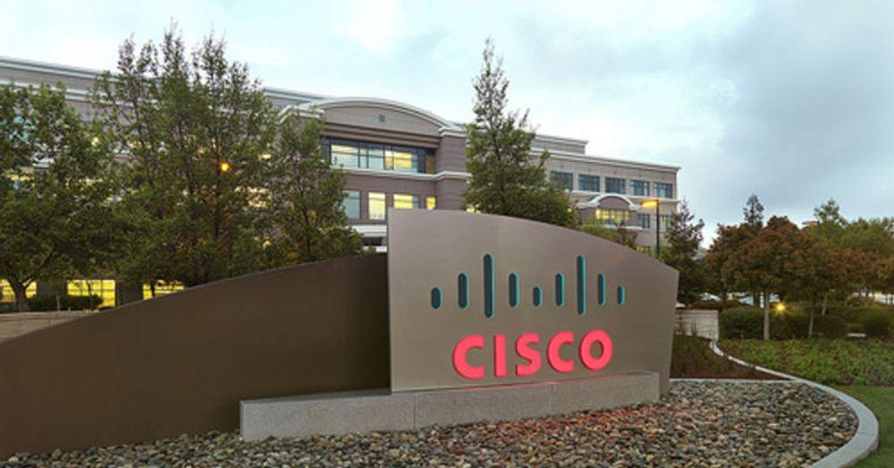 Dramatiske kutt i Cisco. Her fra nettverksgigantens hovedkvarter i Silicon Valley.