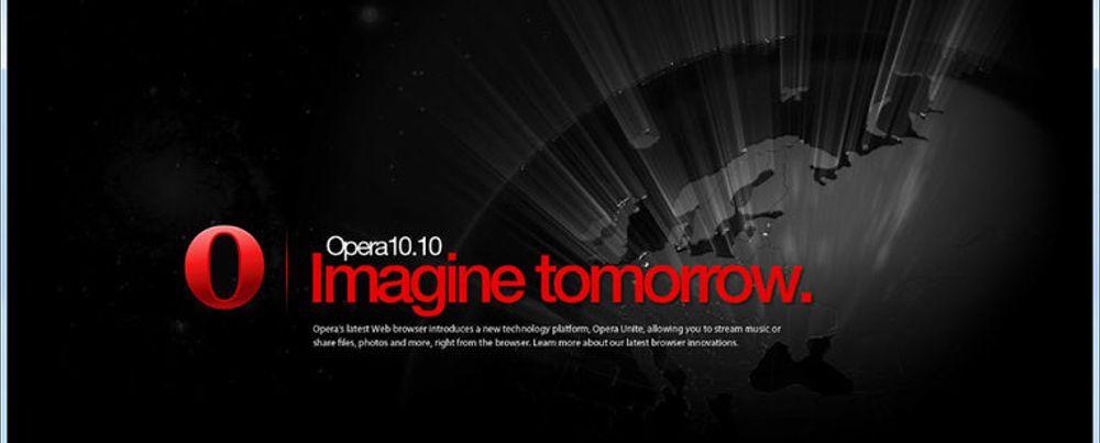 Opera 10.10 gjør fildeling til en lek