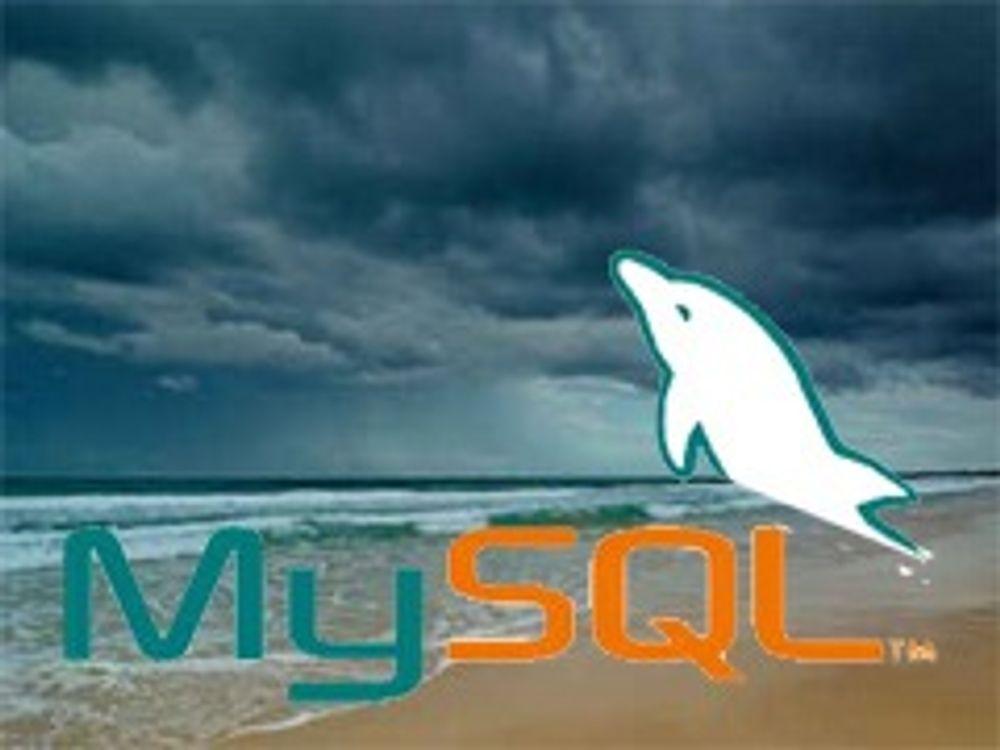 Advarer mot nettskystøtte for MySQL