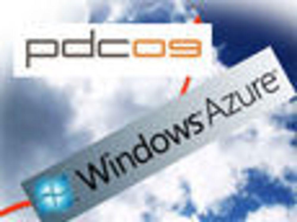 Microsoft gjør klar for Azure-lansering