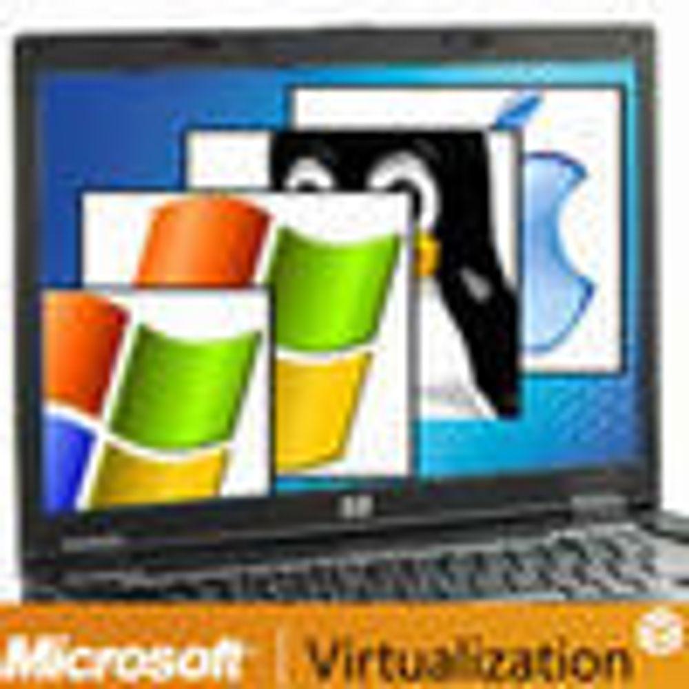 Økt Microsoft-satsning på virtualisering