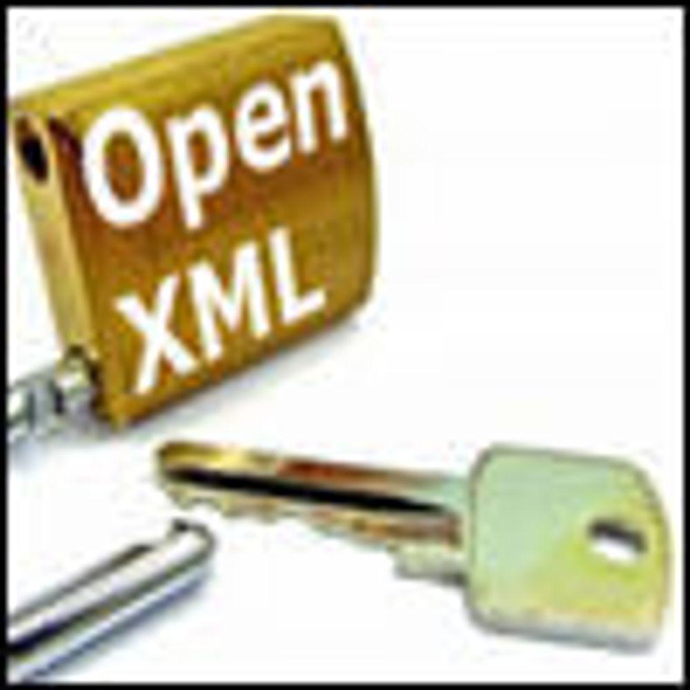 Forsøker seg igjen med Open XML i ISO