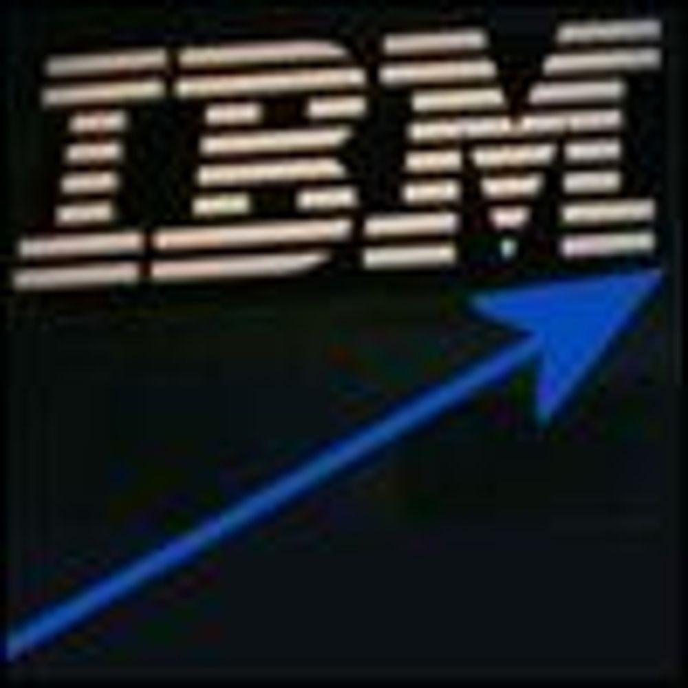 Kraftig forbedret lønnsomhet i IBM