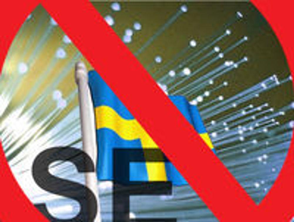 Svensk toppdomene slått ut