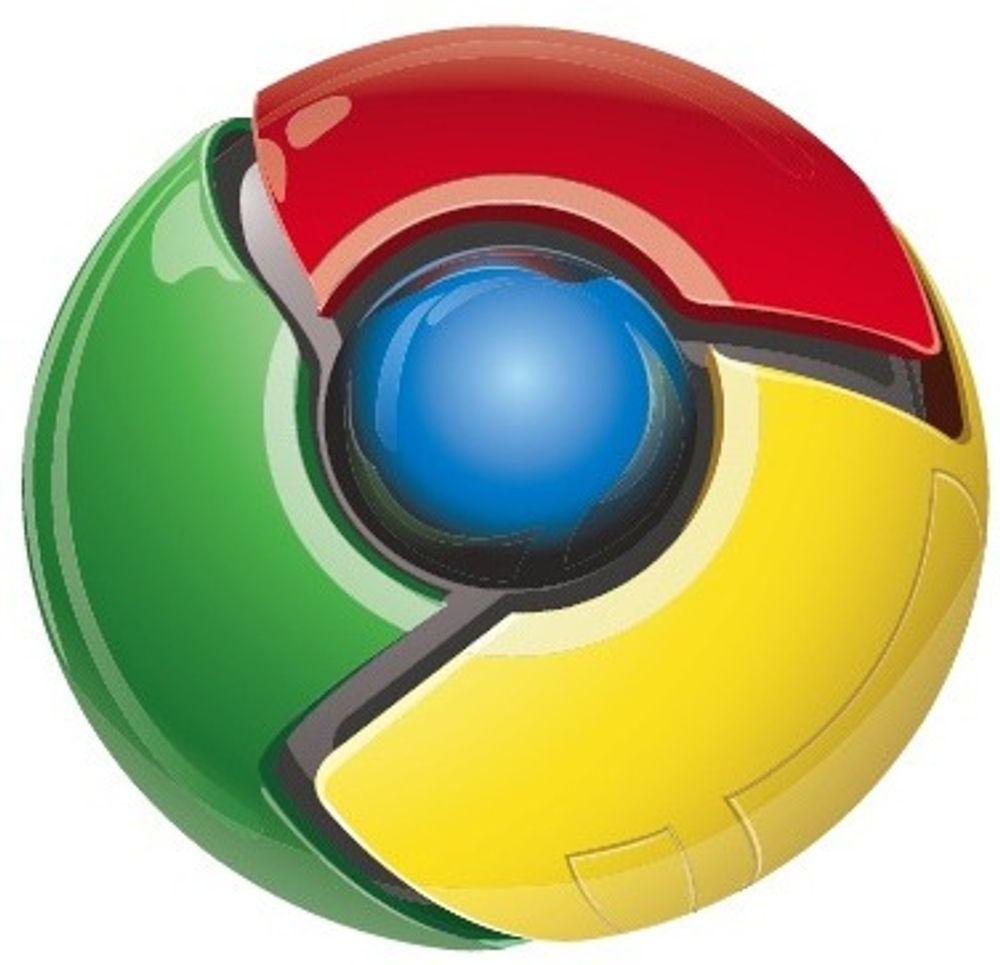 Bygger 3D-standard inn i Chrome