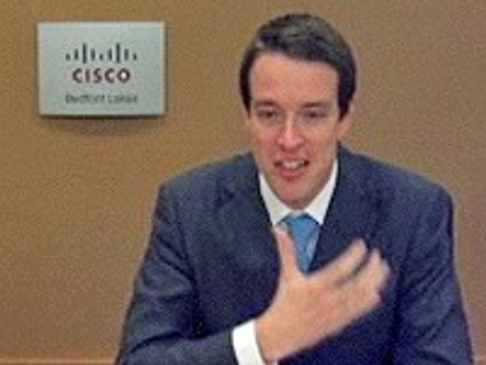 Cisco vil legge Tandberg inn under seg