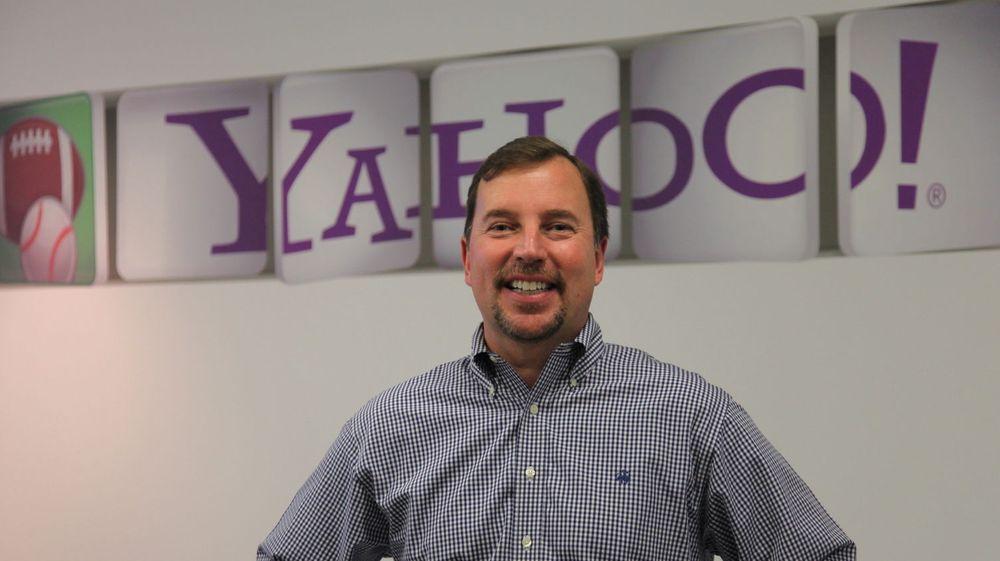 Yahoos nye toppsjef, Scott Thompson, kunne rapportere om svake tall for selskapets fjerde kvartal i fjor.