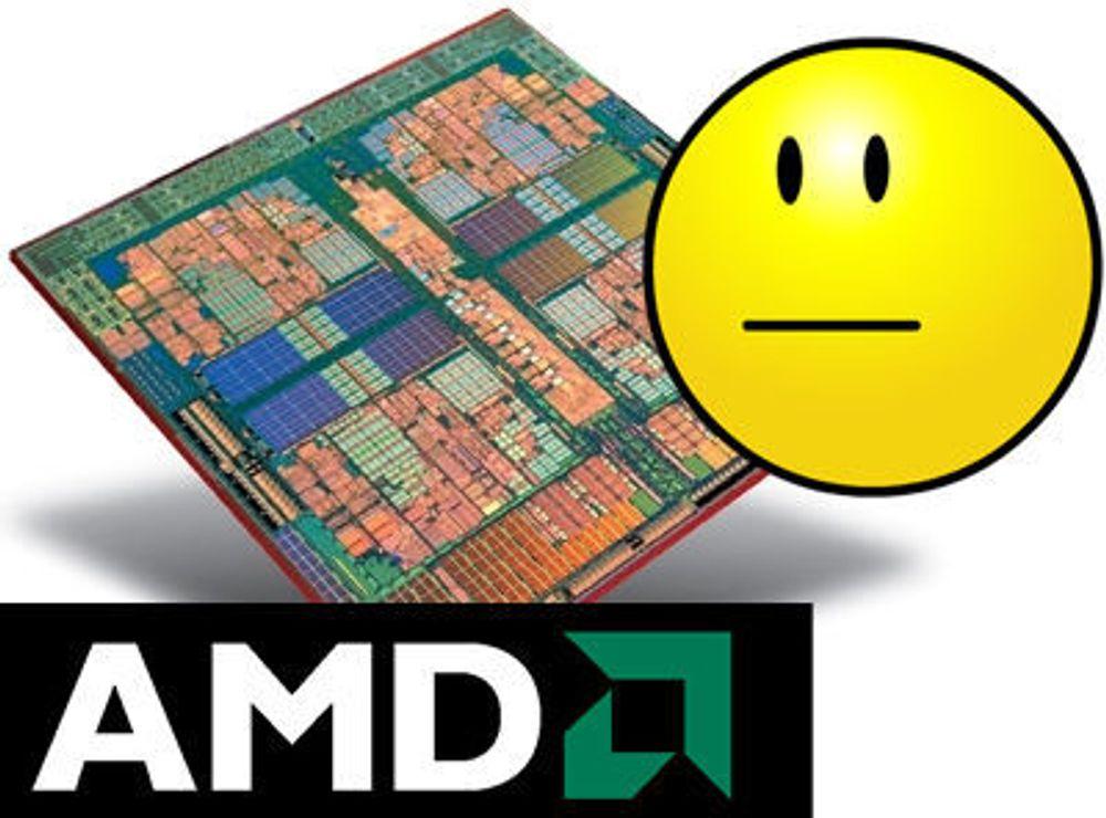 AMD i minus igjen