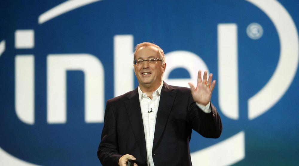 Intels toppsjef, Paul Otellini, kunne torsdag presentere de beste resultatene i selskapets historie. Bildet er fra CES-messen der selskapet presentere en rekke nye produkter som skal ta Intel fra pc-en over til nettbrett og ultratynne bærbare.