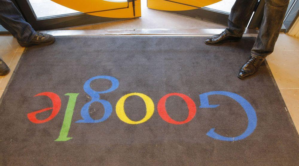 Google falt kraftig på børsen i natt, etter å ha levert et regnskap som skuffet investorene. Bildet er fra selskapets nye kontorer i Paris som ble innviet i forrige måned.