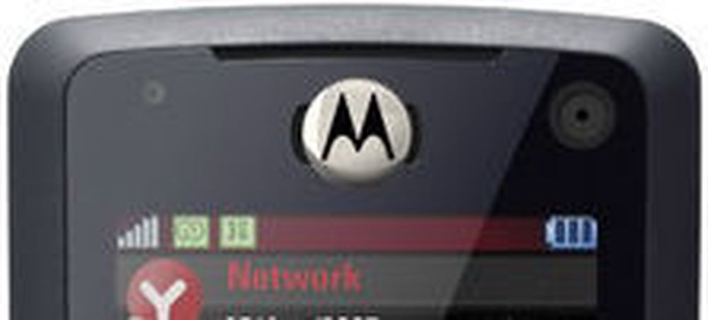 Motorola mistet andreplassen i mobilmarkedet