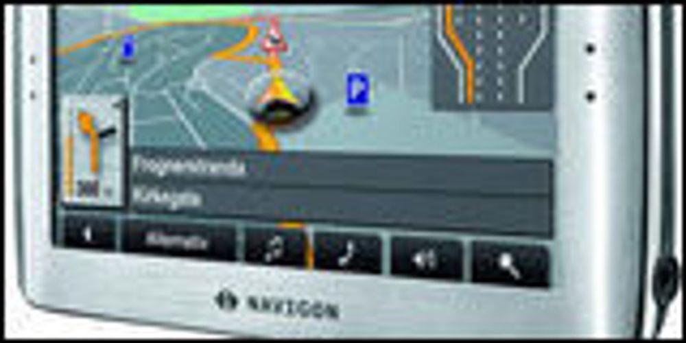 Mer regnekraft i ny GPS fra Navigon