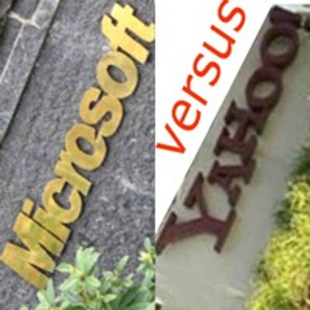 Yahoo-eiere skeptiske til å skvise Microsoft