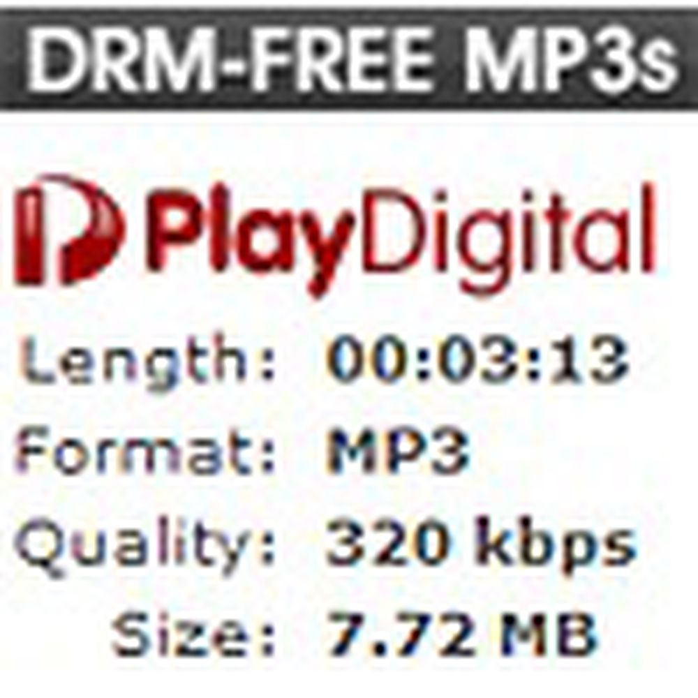 Selger musikk med høyeste MP3-kvalitet