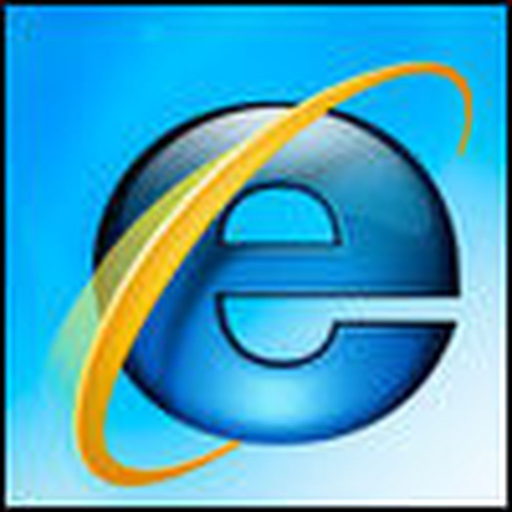 Skal demonstrere Internet Explorer 8