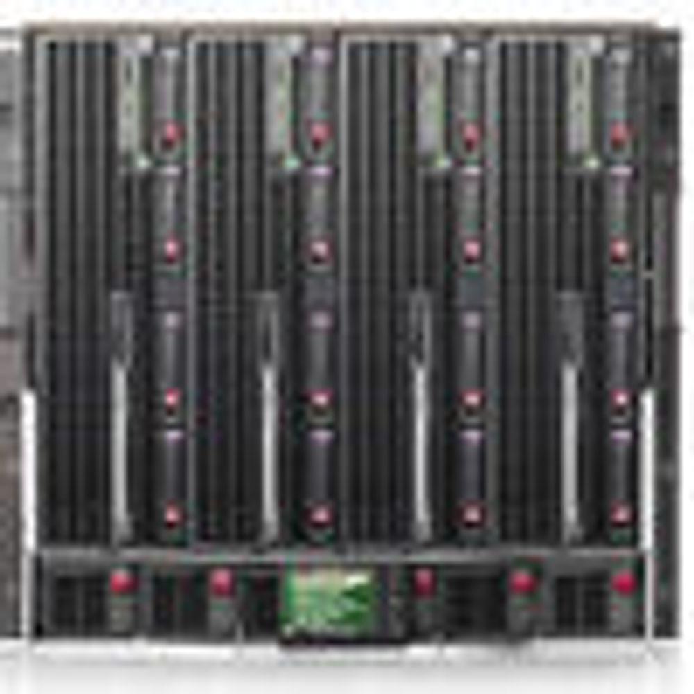Kraftig HP-bladserver med 4x2 Itanium