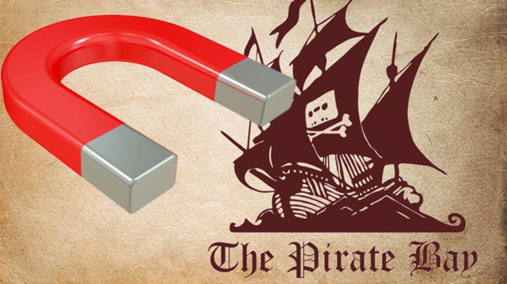 Pirate Bay slutter å dele torrent-filer