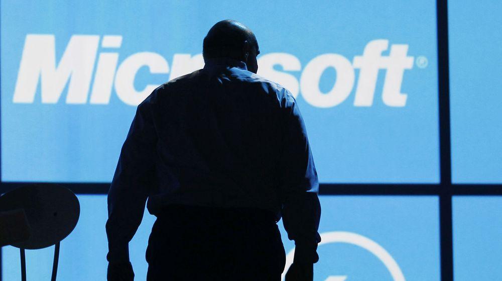 Steve Ballmer og Microsoft skal ha jobbet med TV-planer, men prisen ble for høy. Bildet er fra Ballmers opptreden på CES-messen i Las Vegas denne uken.