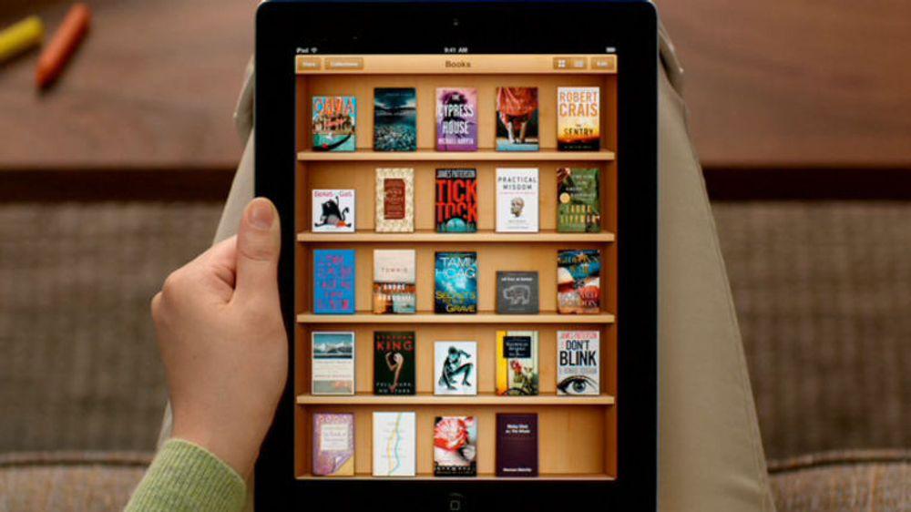 Årets siste uke det en eksplosjon i nedlastingen av e-bøkene til en rekke norske forlag på Apples iBookstore.