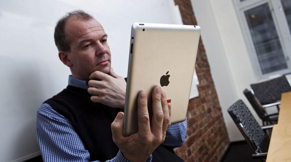 Apple vil ta for seg av bedriftsmarkedet i tiden som kommer, mener Forrester Research. Særlig har salget av iPad kapret IT-budsjettene.