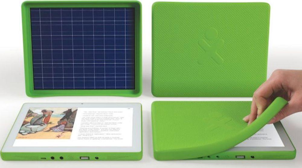 OLPCs XO-3.0-nettbrett skal leveres med et beskyttende deksel.