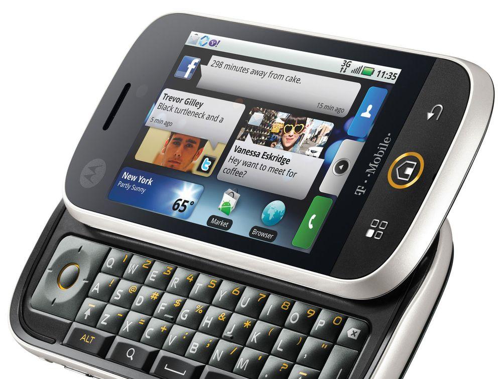 Motorola Cliq/Dext Android-baserte mobil