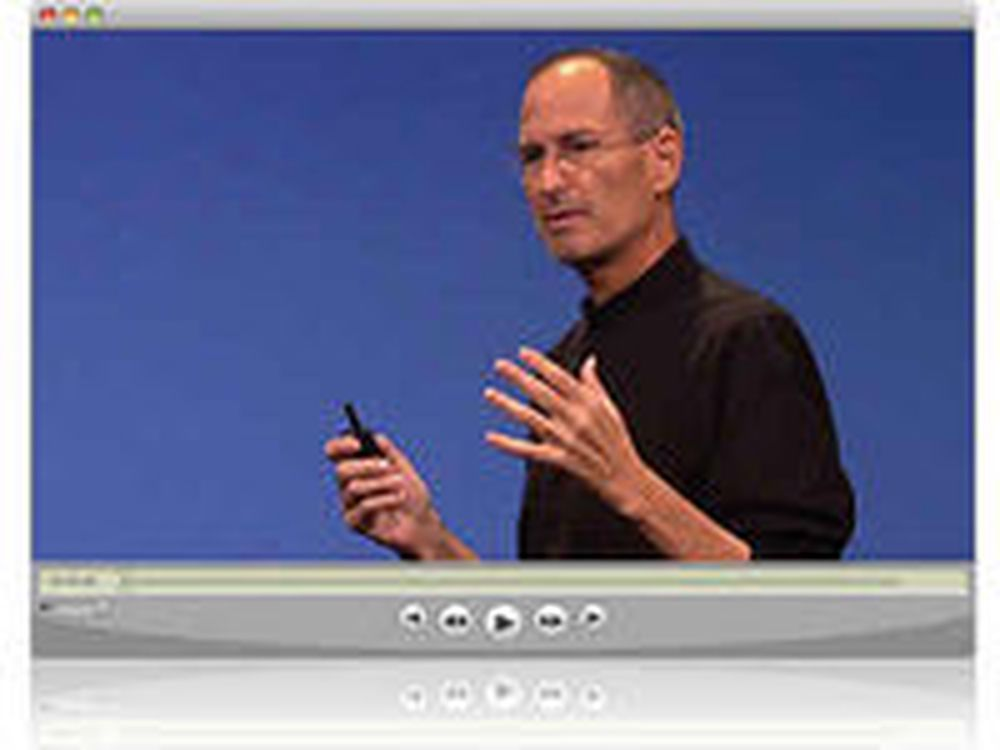 Mager Steve Jobs tente menigheten