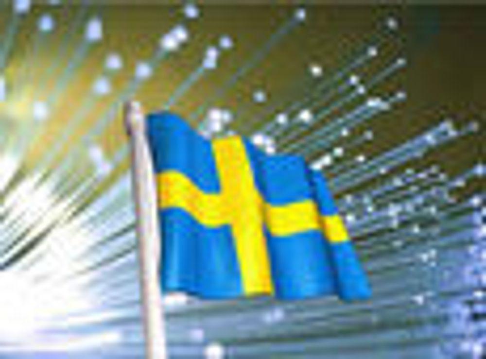 Norge nummer to på fiber i Europa