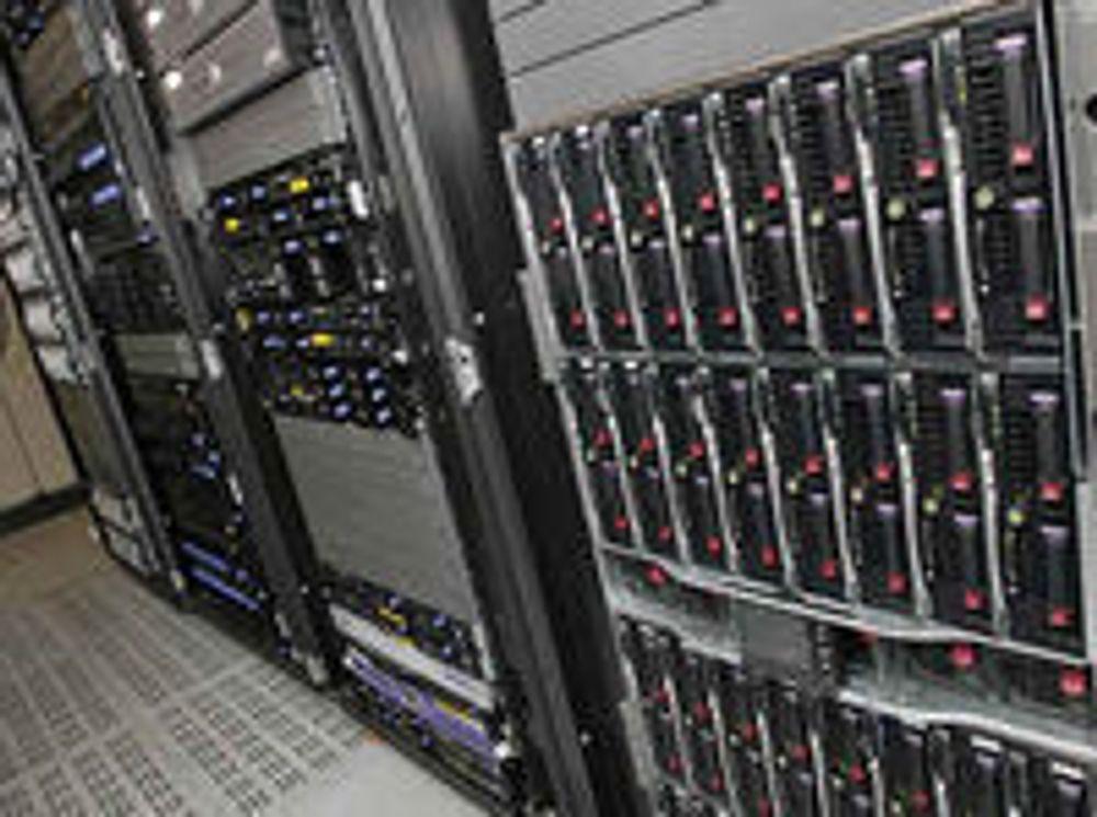 Svært utrivelig på servermarkedet