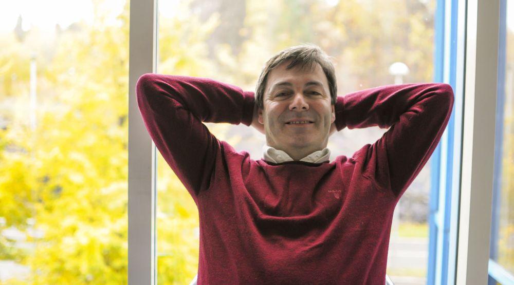 Daglig leder Ralph Bernstein i Idex er klar for volumproduksjon av SmartFinger i løpet av annet halvår 2013.