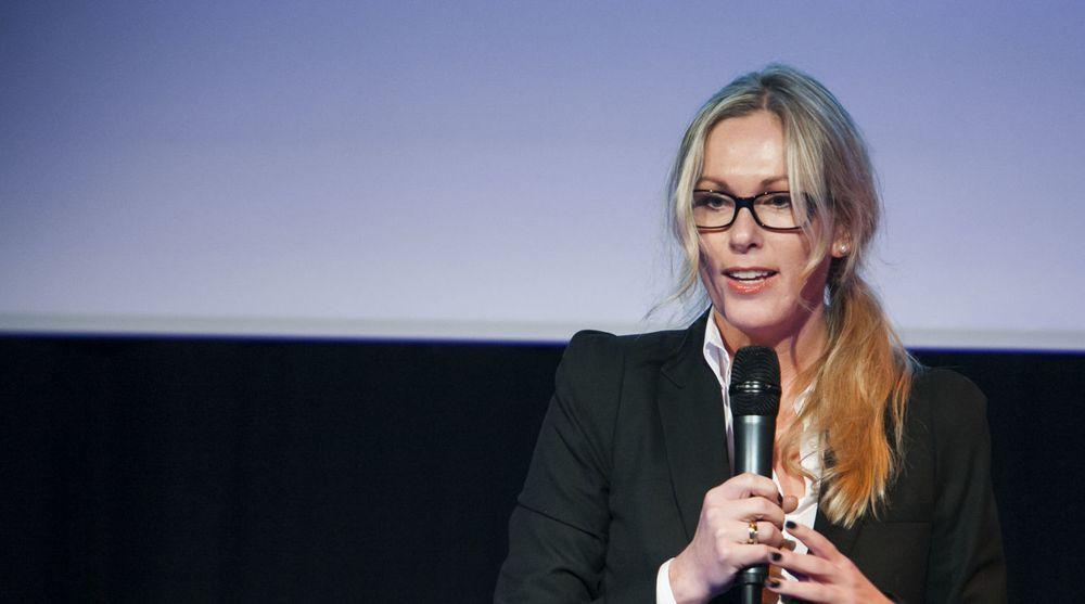 Sjef for HP Norge, Anita Krohn Traaseth, har fått mye oppmerksomhet for HPs dristige mål. Dette har bidratt positivt til veksten for selskapet, mener hun. Det norske datterselskapet leverte sterkere resultater enn HPs globale operasjon i første kvartal.