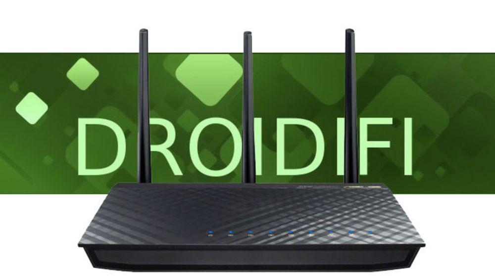Droidifi skal i første omgang tilbys til tre ulike rutere, blant annet Asus RT-AC66U.