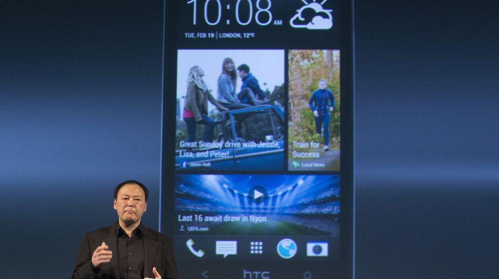 HTCs toppsjef, Peter Chou,er under hardt press for å levere en telefon som kan få overskuddet tilbake for den hardt pressede taiwanske mobilprodusenten. Tirsdag avduket han flaggskipet One i London.