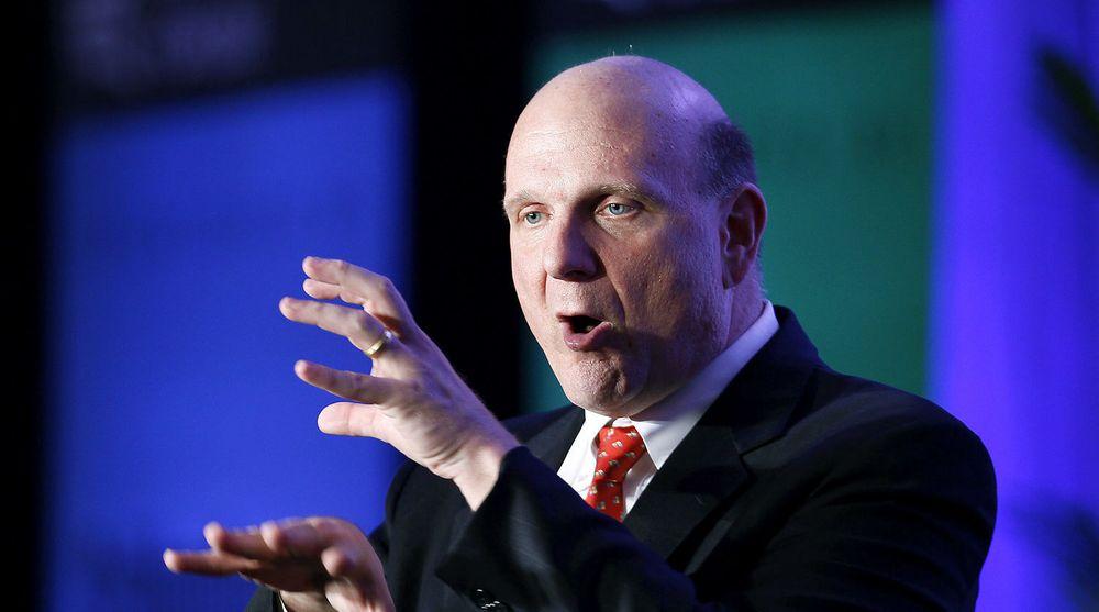 Texas velger Office 365. Bildet viser Microsofts toppsjef Steve Ballmer under et foredrag i delstaten tilbake i 2010.