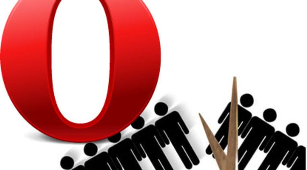 Hele Core-avdelingen er lagt ned, som følge av at Opera ikke lenger skal lage webmotoren sin selv. Minst 90 ansatte mistet jobbene sine, mange av dem veteraner.
