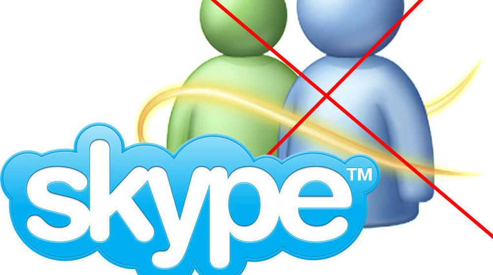 Skype overtar for Windows Live Messenger, men ikke så tidlig som det Microsoft tidligere har kunngjort.