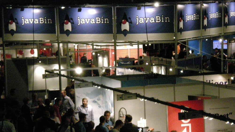 Standen til brukergruppen JavaBin dominerte årets Javazone.