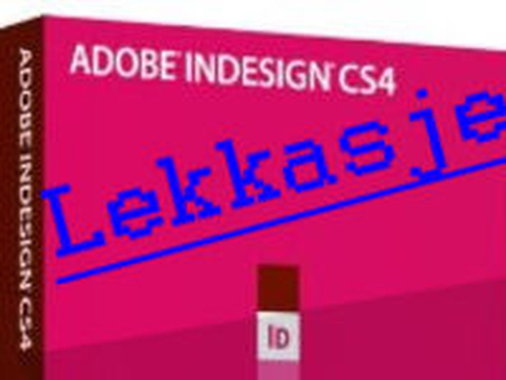 Tjuvtitt på nye Indesign CS4