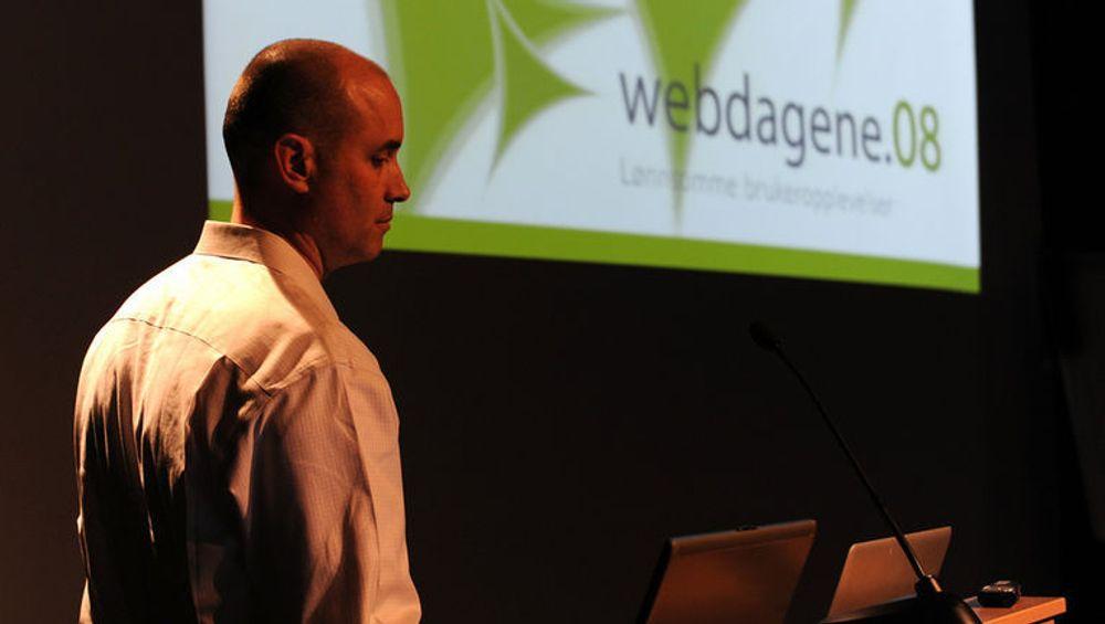 BJ Fogg er psykolog og forsker på hvordan data påvirker folks atferd og holdninger. Foto: Teodor Bjerrang ixd