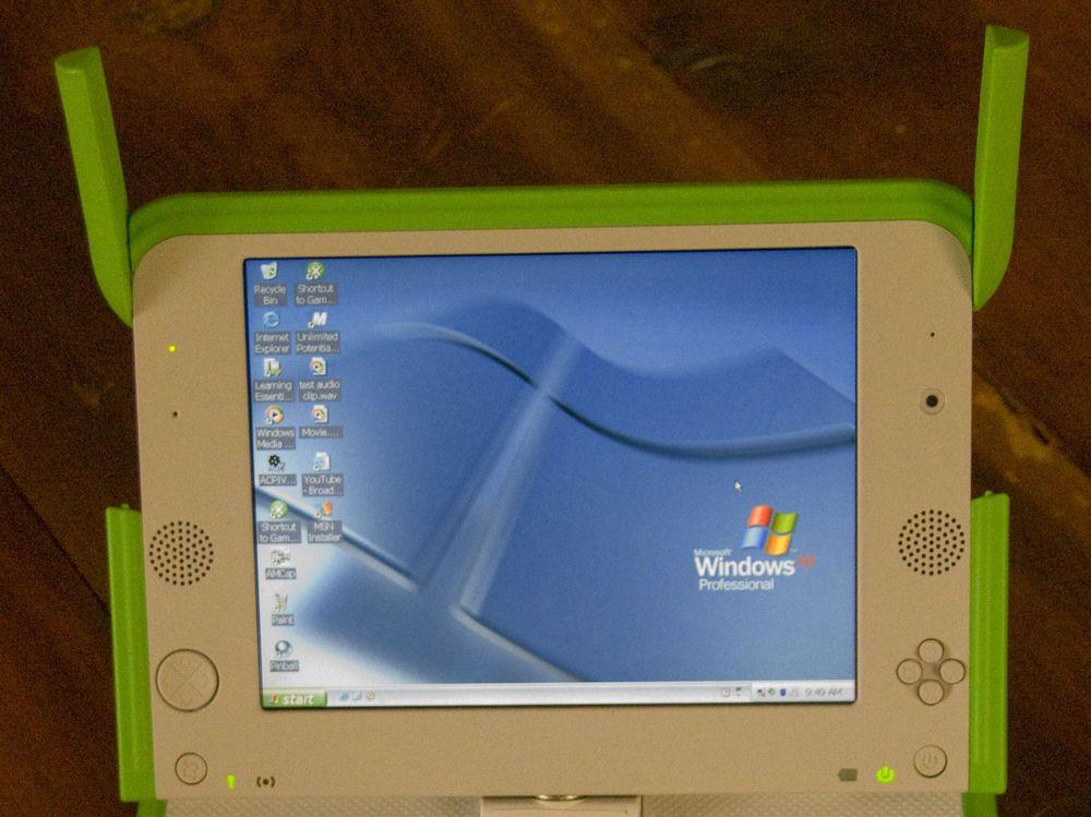 Peru prøver barne-PC-en XO med Windows