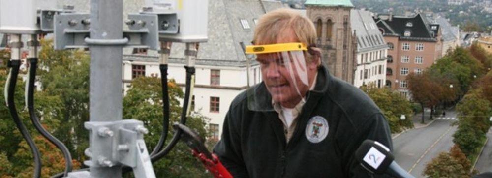 MTU mener at Kurt Oddekalv og Norges Miljøvernforbund har opptrådt som bøller, og oppfordrer alle støttespillere til å ta avstand fra hærverket. (foto: Norges Miljøvernforbund)