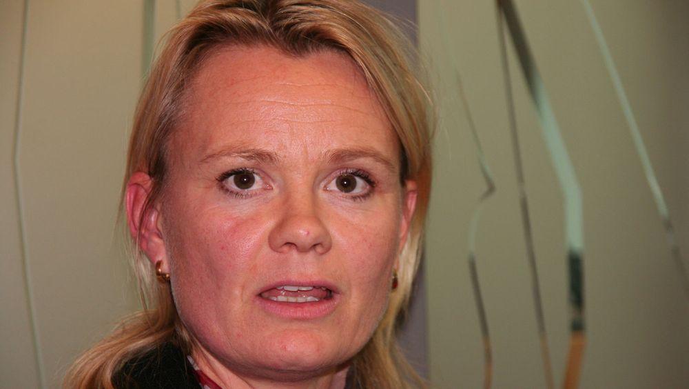 SMS-bank tar av, forteller Ingjerd Blekeli Spiten, leder for mobile tjenester i DnB Nor.