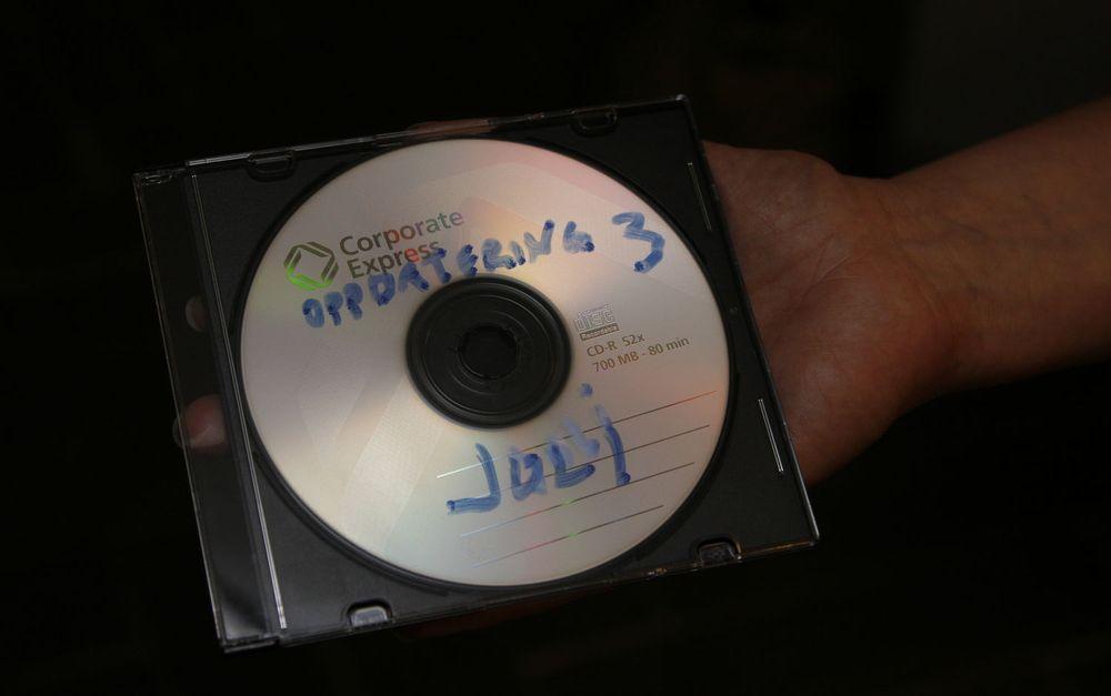 Denne CD-platen inneholder fødselsnummeret til 3,95 millioner nordmenn.