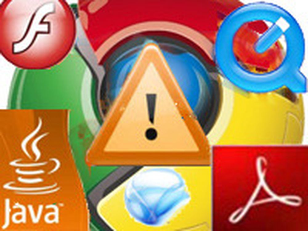 Chrome skal blokkere utgåtte plugins