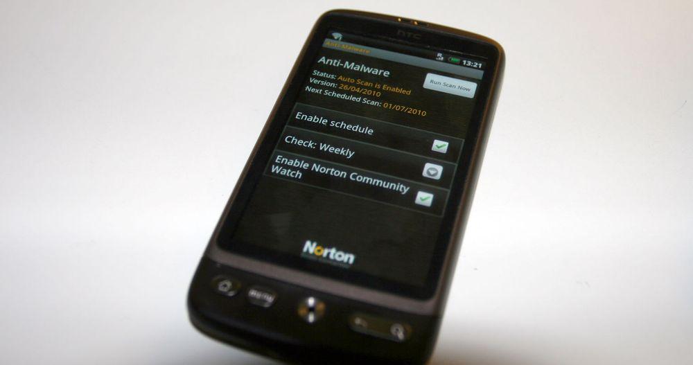 Den åpne Android-plattformen trenger beskyttelse, mener Symantec. Norton-appen deres er fritt prøves ut denne sommeren.