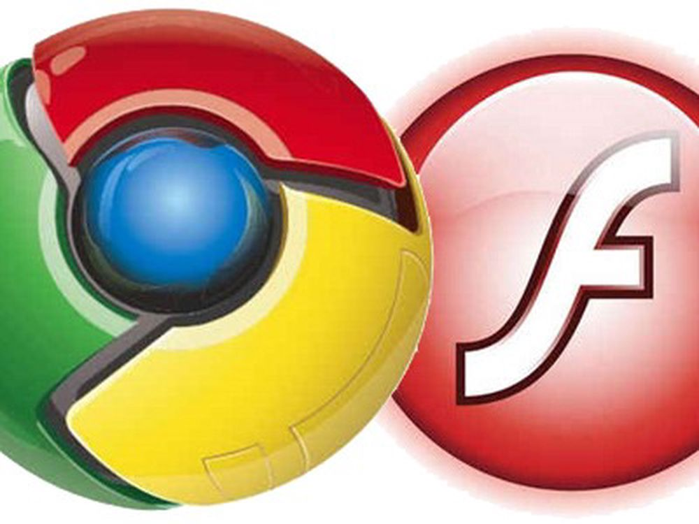 Flash integrert med Google Chrome