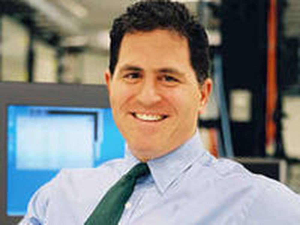 Michael Dell grilles av analytikere